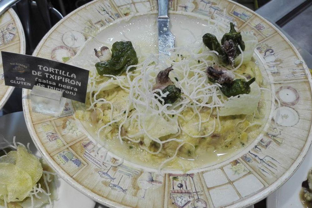 squid tortilla