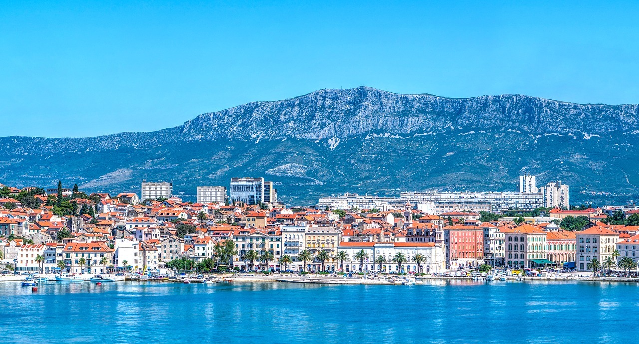 Panoramic view of Split