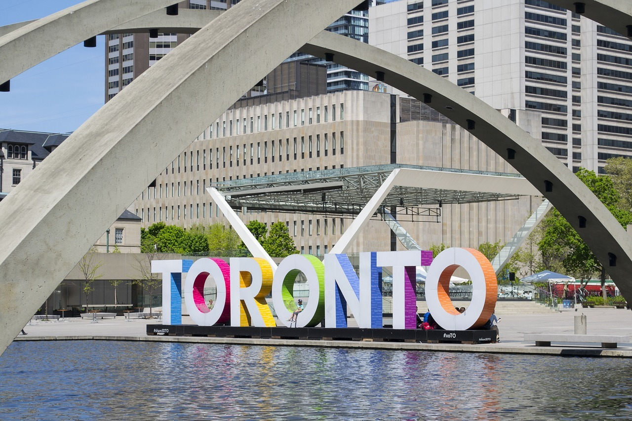 City Hall Toronto sign