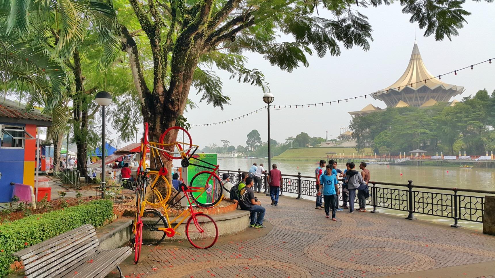 Waterfront of Kuching