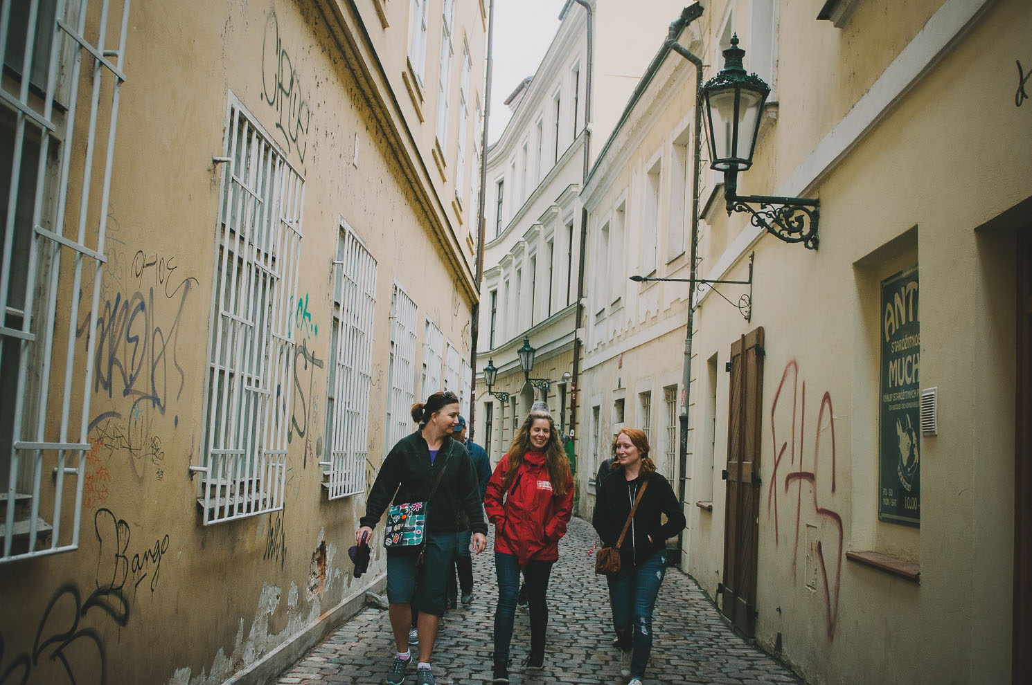Lanes of Prague's Old City