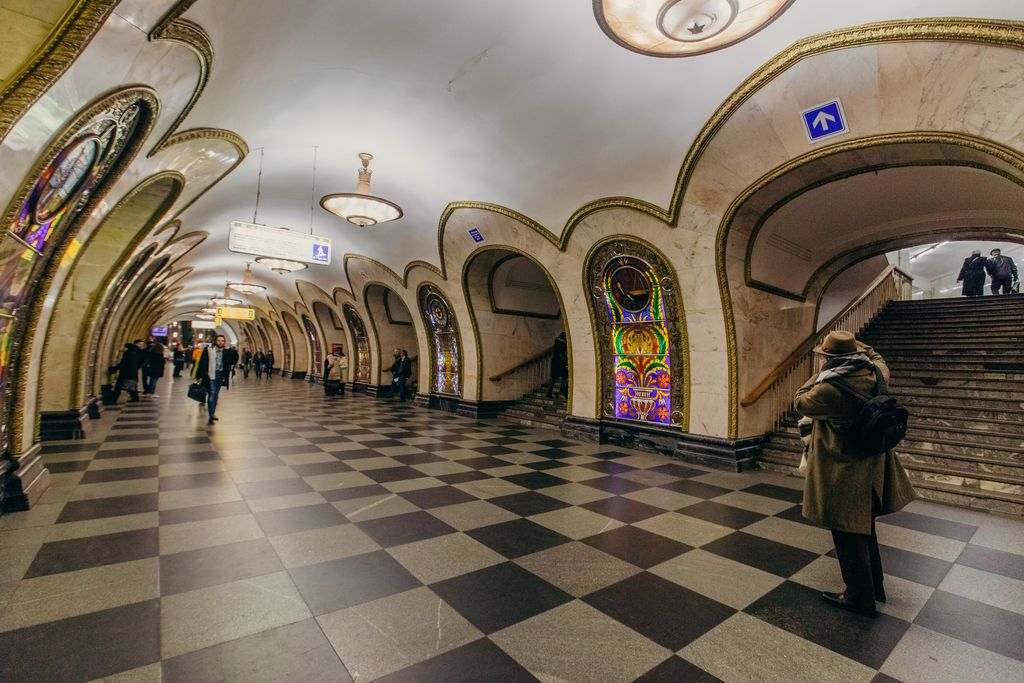 Moscow underground system