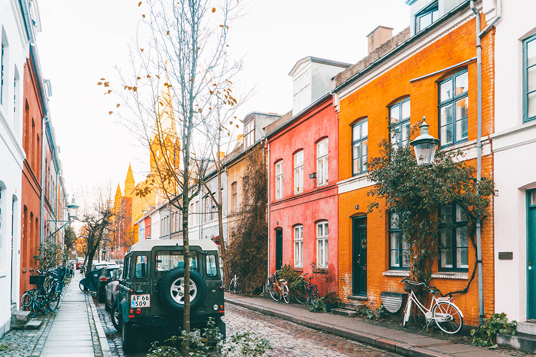 Nyboder neighbourhood Copenhagen