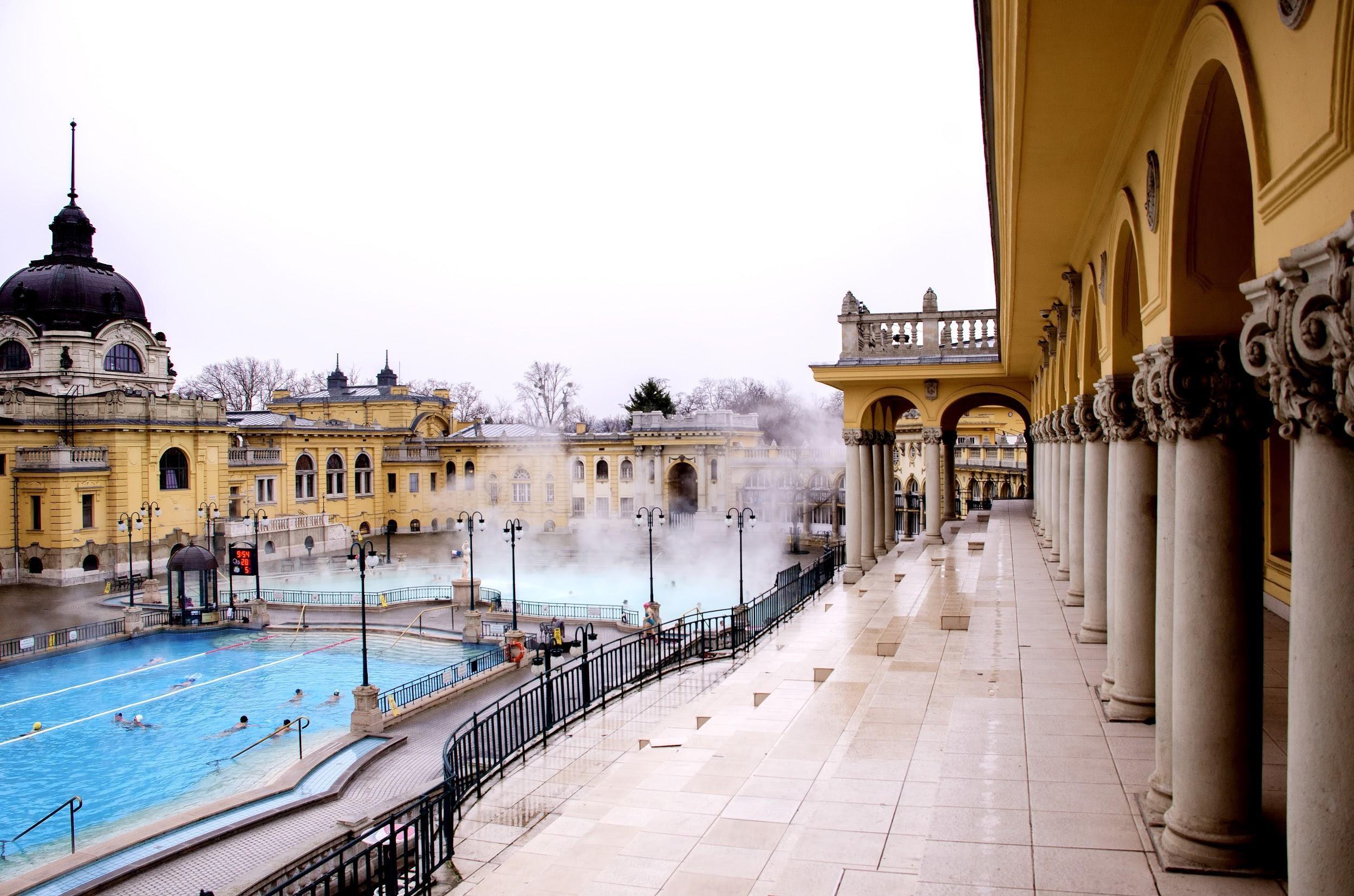 Budapest Spa Baths