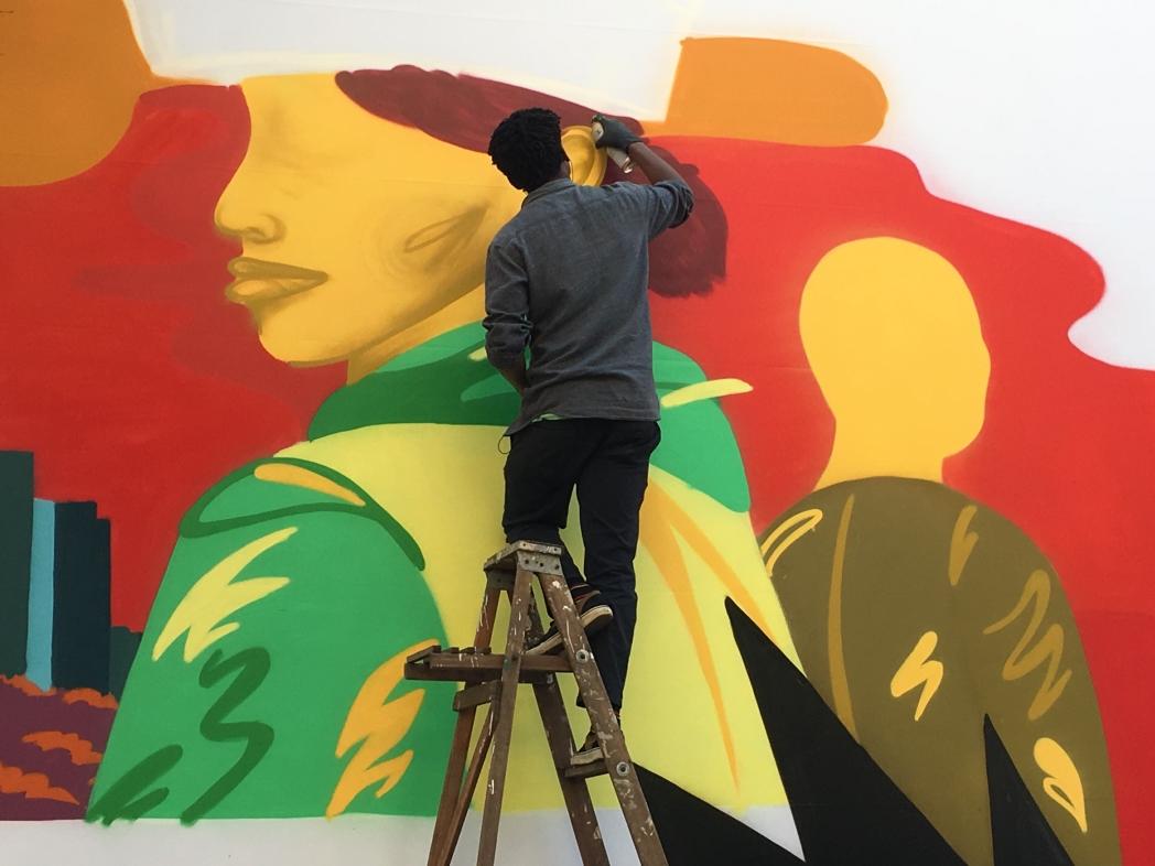 street art in Maboeng Johannesburg