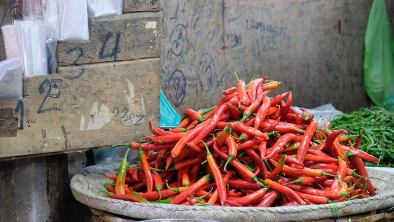 Red chillis