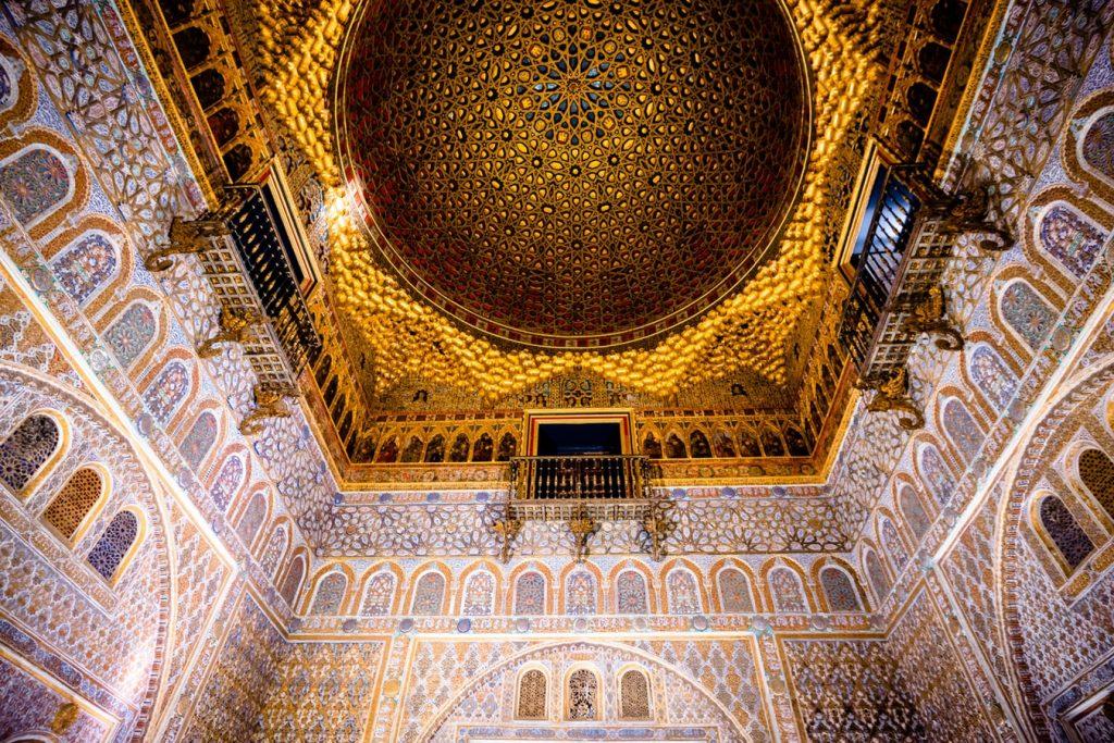 Alcazar Ceiling Seville