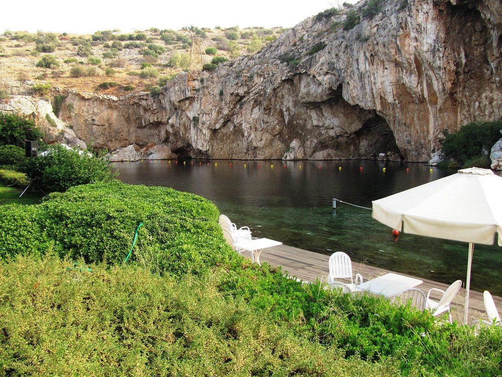 Lake Vouliagmeni Hot Springs