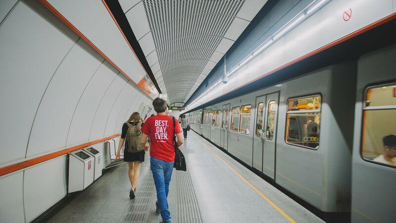 Vienna Metro Train