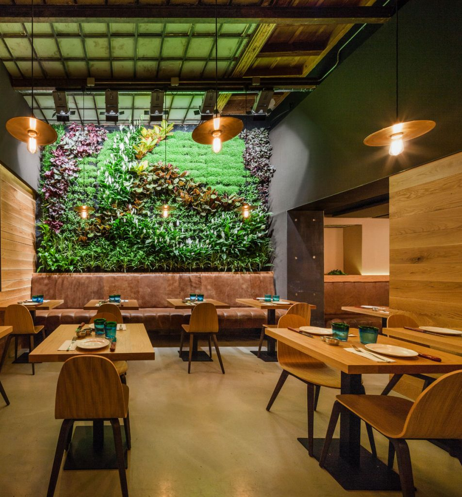 The attractive interior and garden area at Mamarracha, who specialise in producing mouth-watering tapas fusion dishes. Photo credit: Mamarracha Restaurant