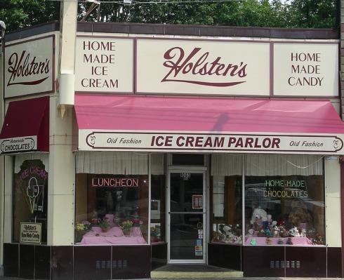 Holstens Ice Cream Parlor the Sopranos