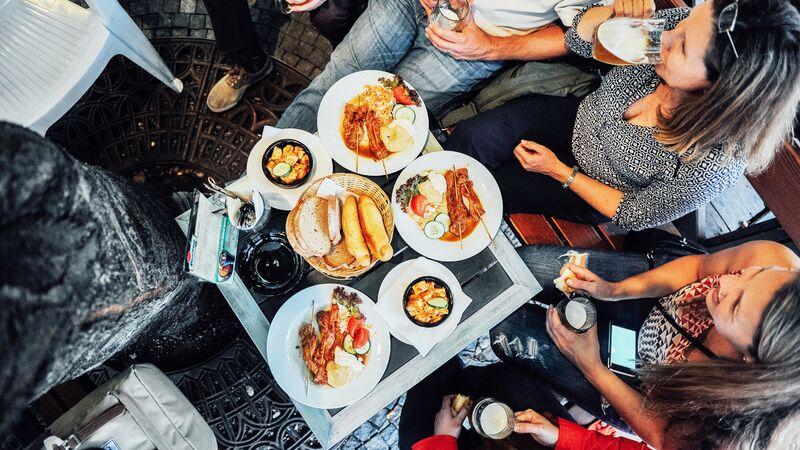 Prague lunch