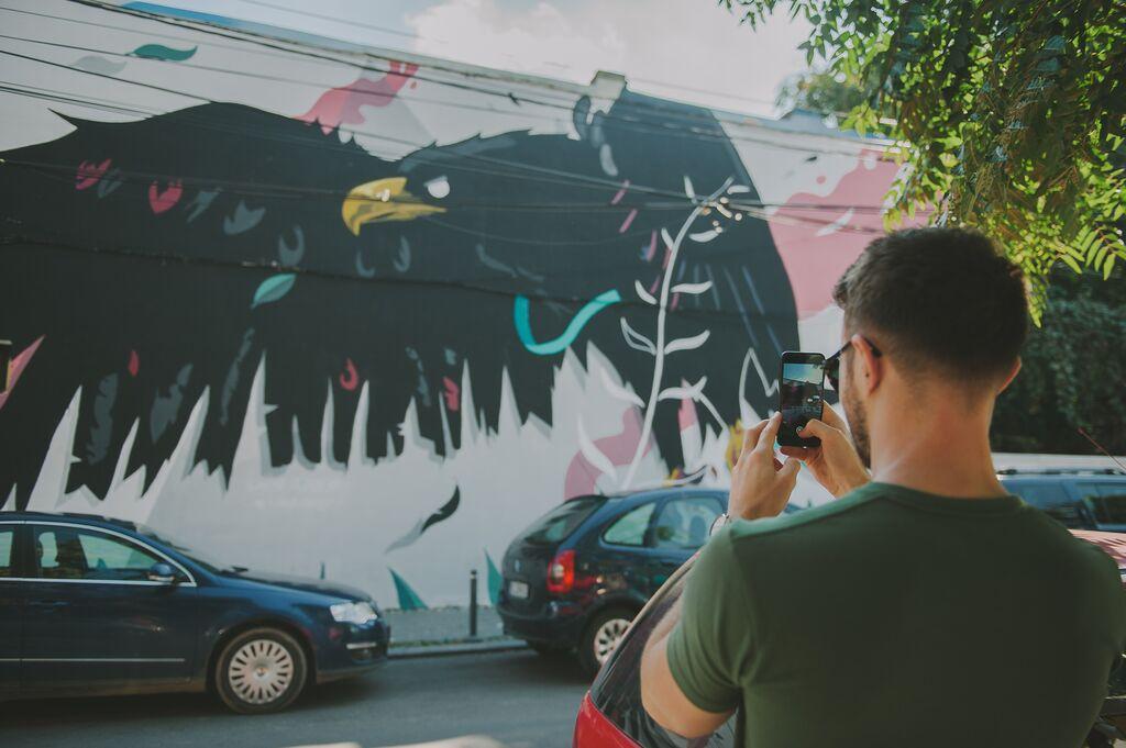 Bucharest Street Art Graffiti