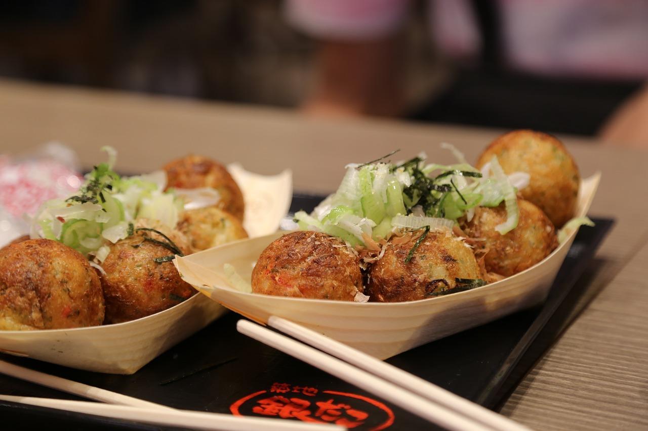Takoyaki Osaka street food
