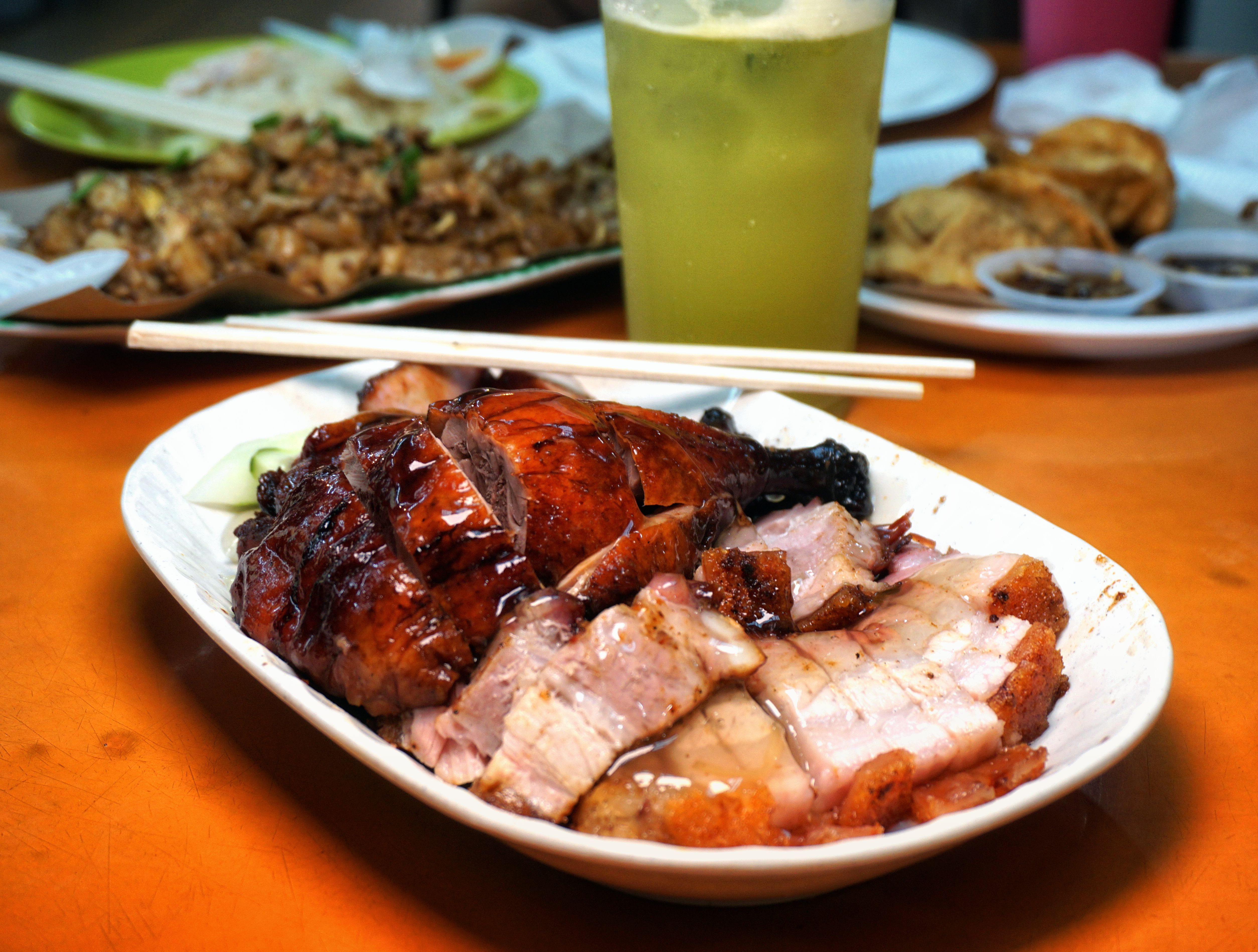 Singapore Roast pork
