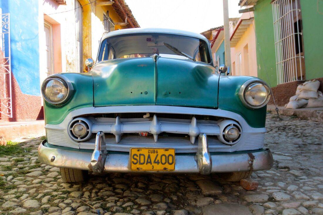 Classic American car Havana