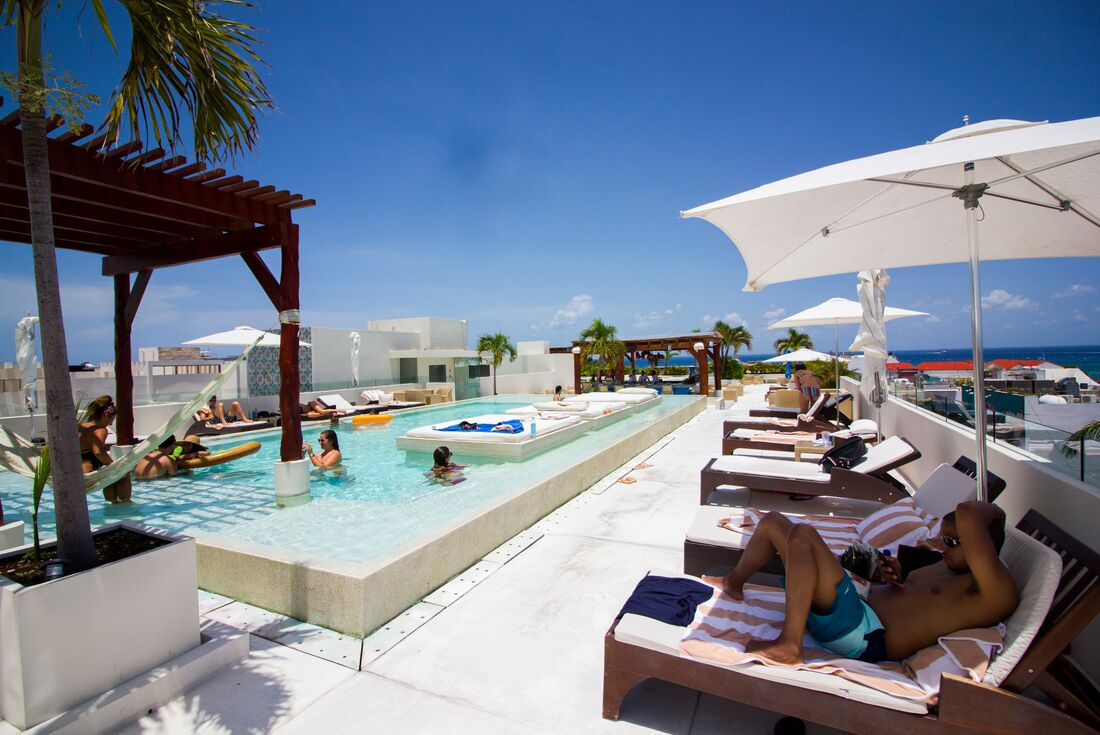 Playa del Carmen rooftop bar