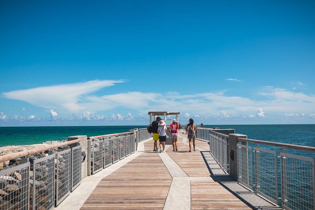 Miami pier