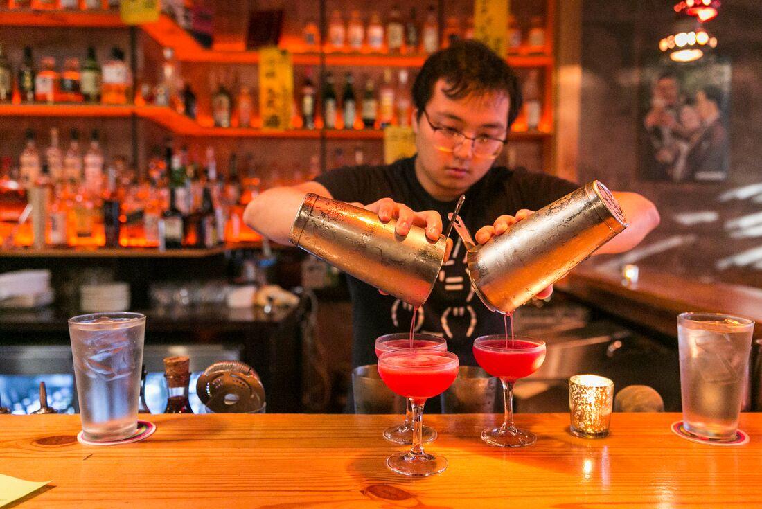 Washington DC cocktail bar